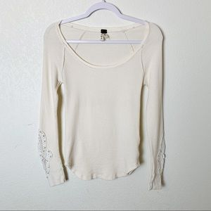 Free People Synergy Crochet Cuff Thermal M